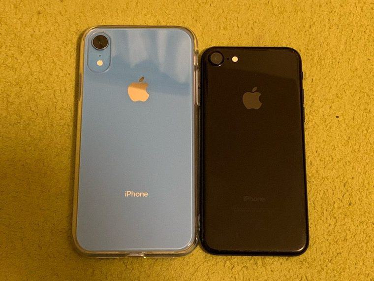 iPhone XR VS iPhone7