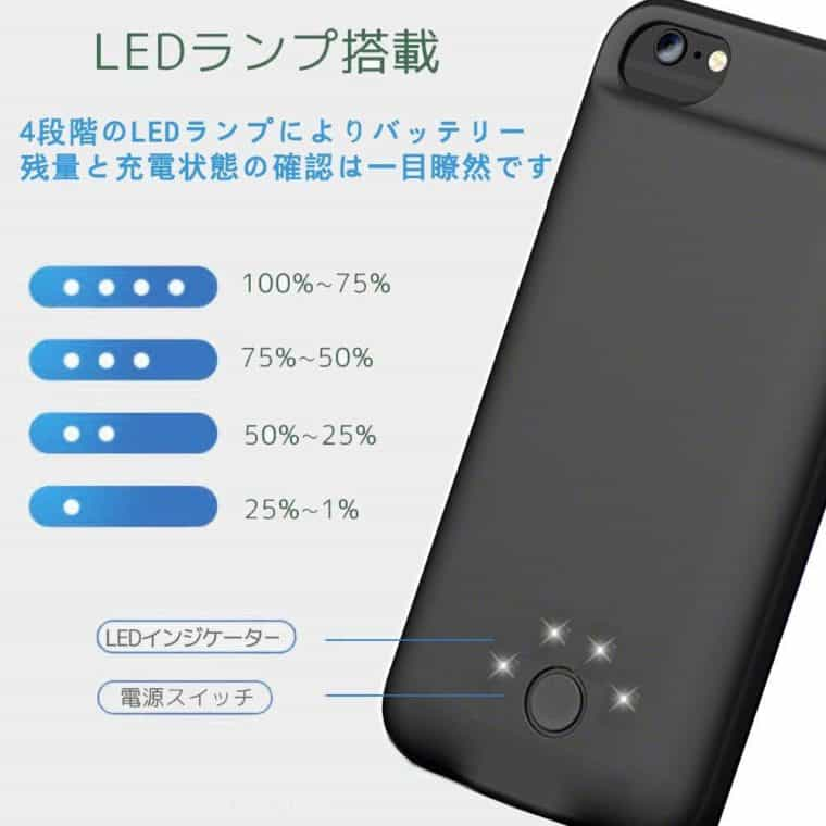 JOYZON iPhone XS バッテリー内蔵ケース