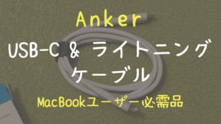 Anker PowerLine II USB-C & ライトニング ケーブル(0.9m)