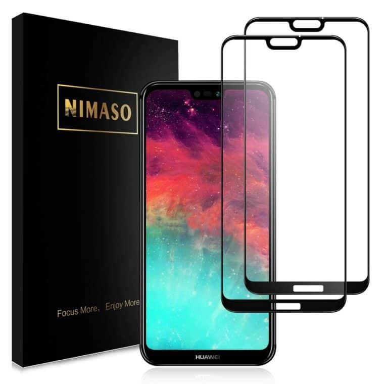 Nimaso 強化ガラス全面保護フィルム