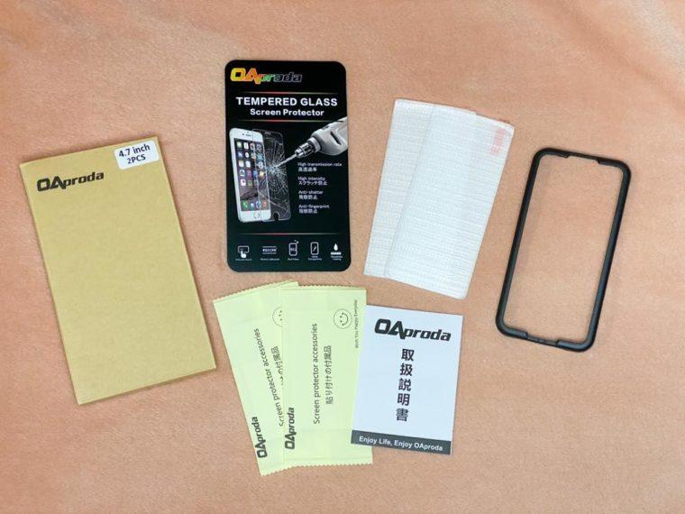 OAproda iPhone SE 第2世代 強化ガラス液晶保護フィルム