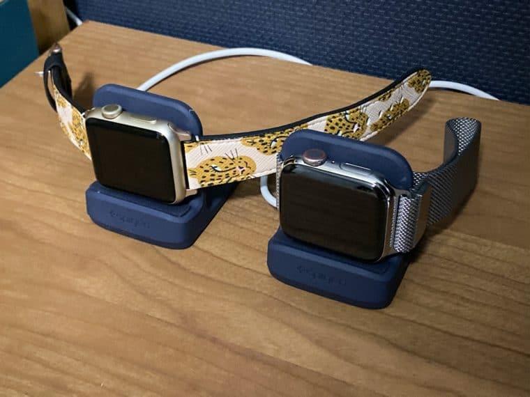 Apple Watch スタンド Spigen