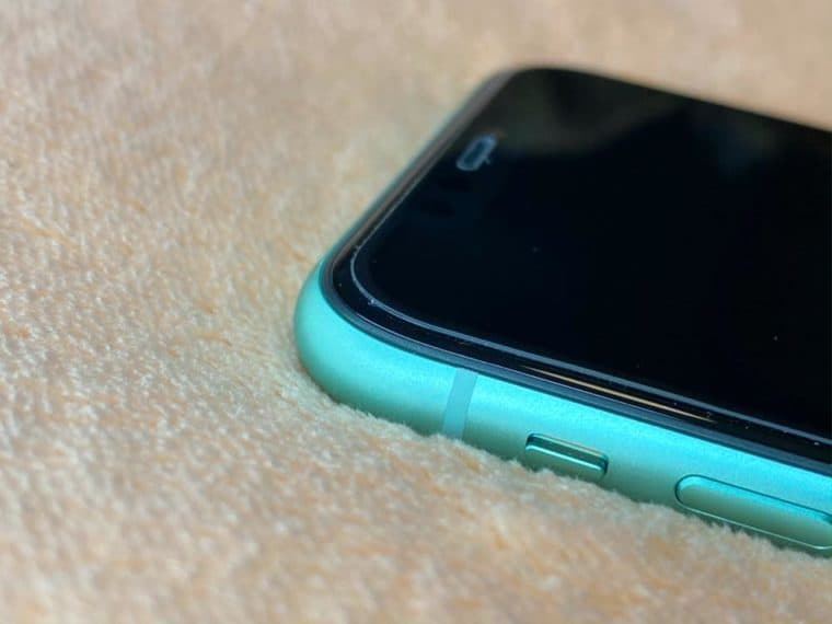 OAproda iPhone11 全面保護ガラスフィルム