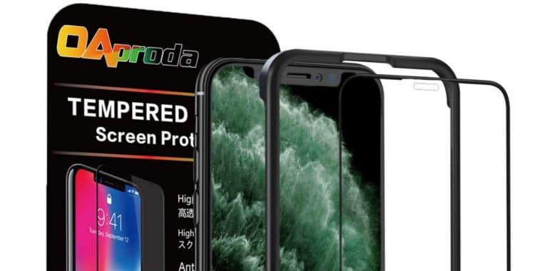 iPhone11 Pro OAproda 全面保護ガラスフィルム